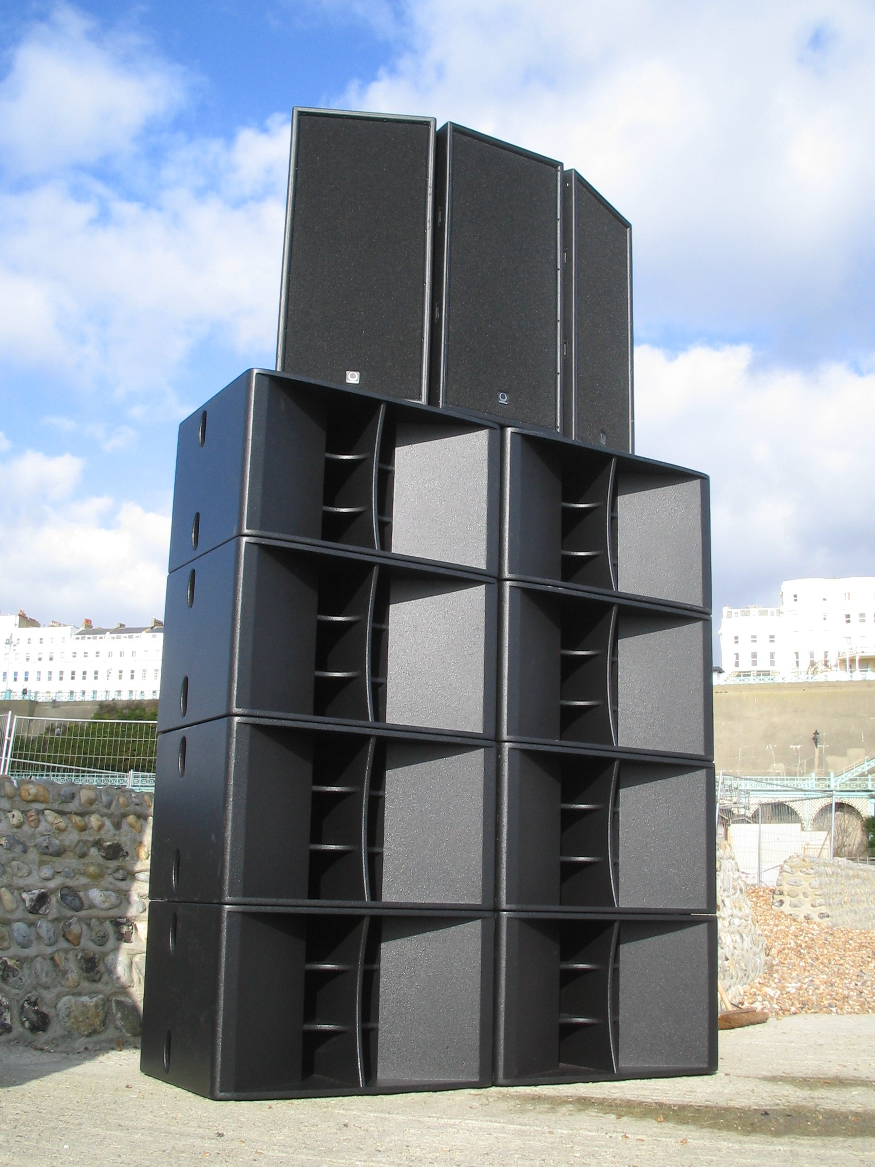 Pictures Of Turbosound Aspects On The Beach